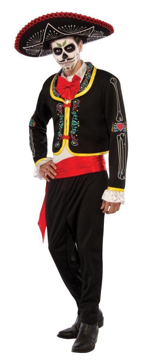Day of the Dead: Senor Muerto - Deluxe Costume (Medium) image