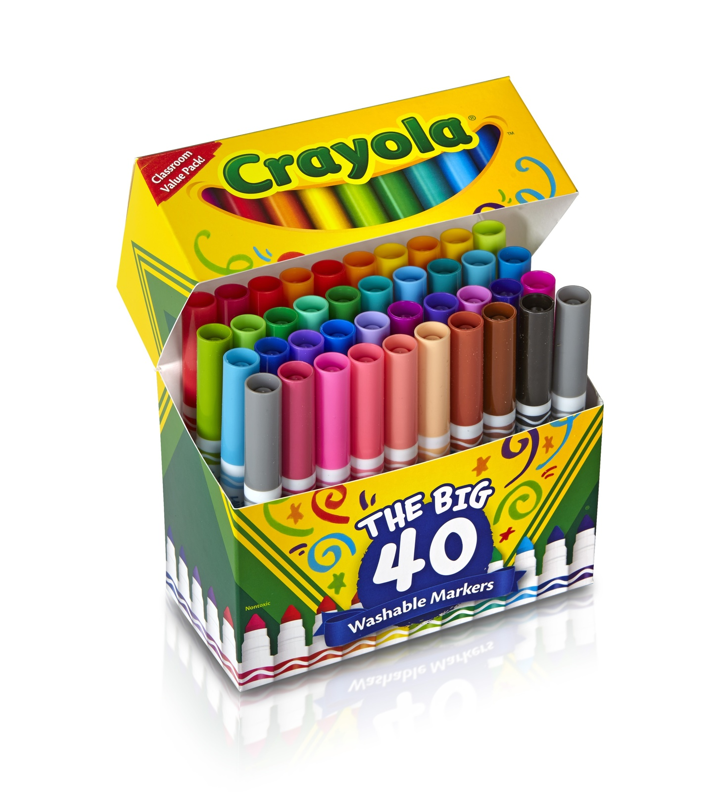 Crayola Washable Markers - The Big 40 image