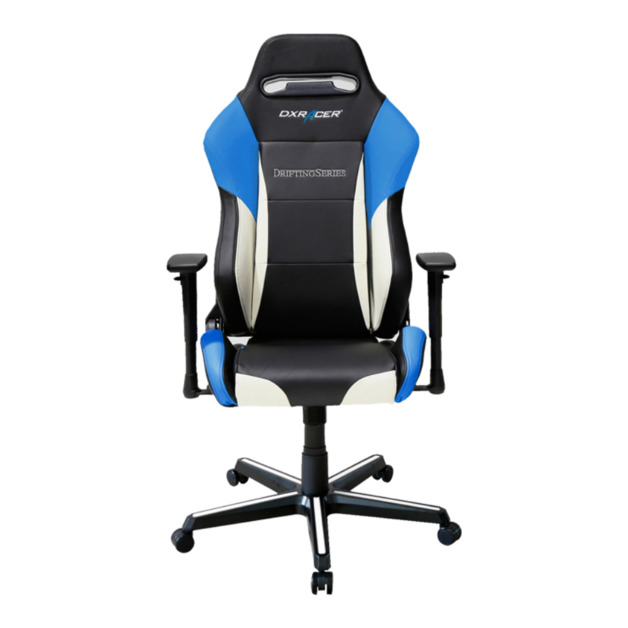 DXRacer Drifting Series DM61 Gaming Chair (Black and Blue) for