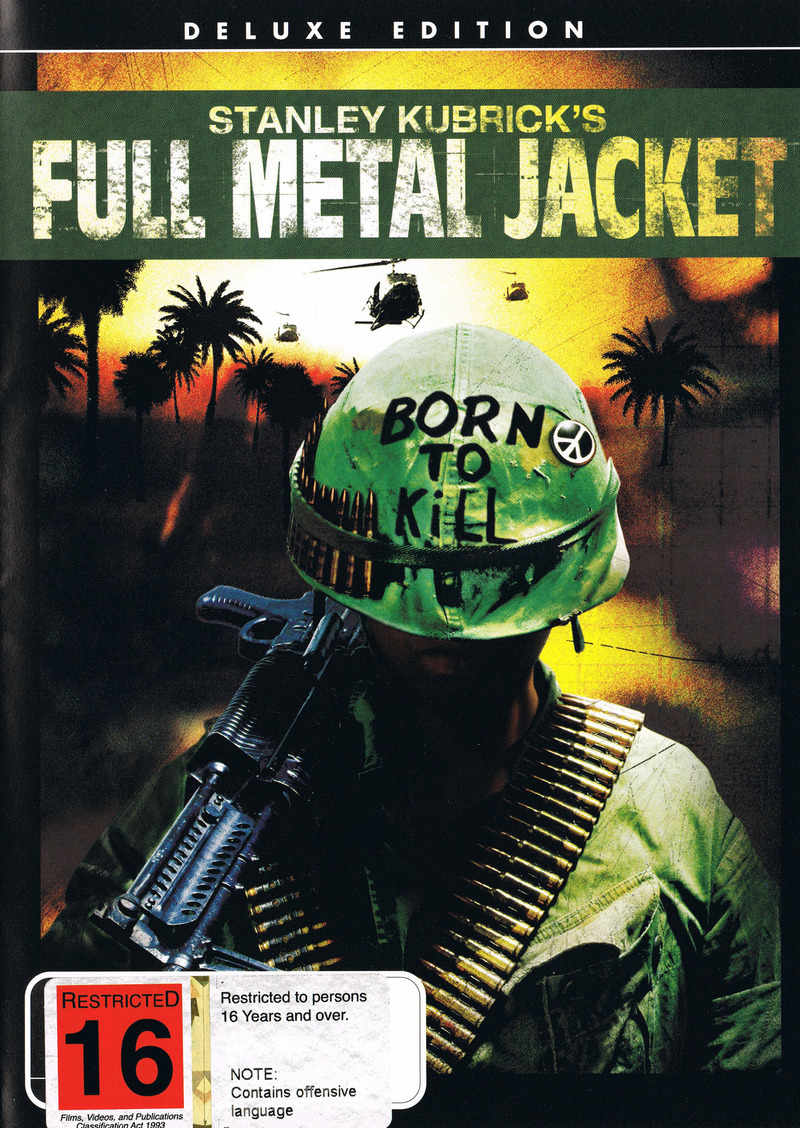 Full Metal Jacket  - Deluxe Edition on DVD image