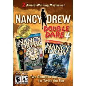 Nancy Drew Double Pack - Secret of the Old Clock & Blue Moon Canyon for PC Games