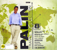 Michael Palin Travel Collection (19 Disc Box Set) on DVD