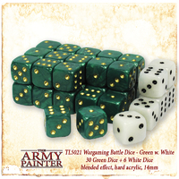 Army Painter Wargamer Dice: Green