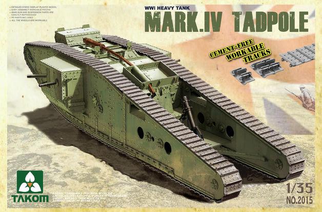 "Takom Heavy Battle Tank Mark IV Male ""Tadpole"""