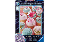 Ravensburger 500 Piece Jigsaw Puzzle - Pearl Cupcakes Brilliant Jewel