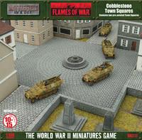 Battlefield in a Box - Cobblestone Town Squares