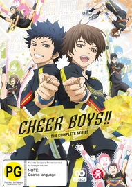 Cheer Boys!! - Complete Series on DVD