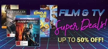 Film & TV Super Deals! Up to 50% off!