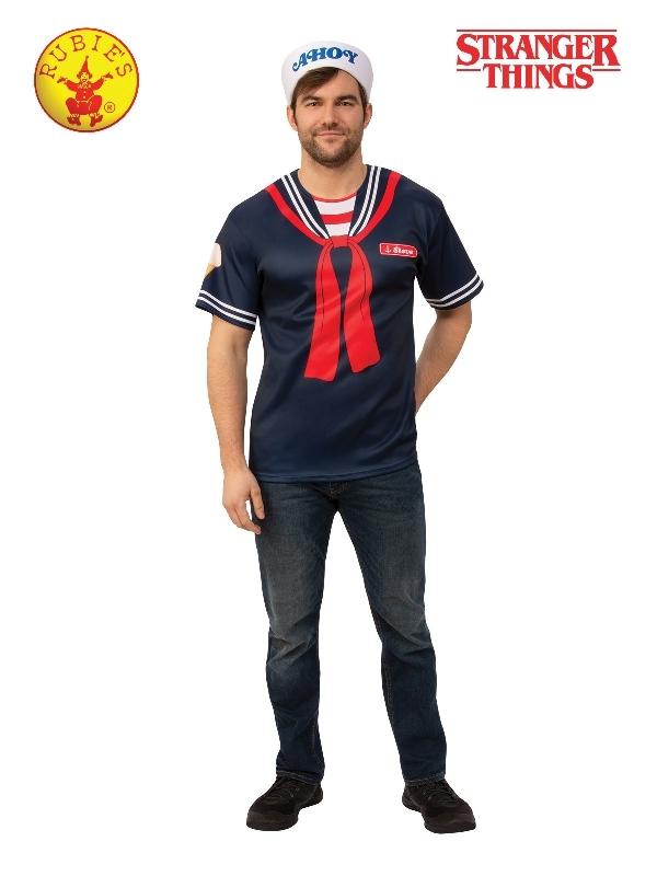 Rubie's: Stranger Things - Steve Scoops Ahoy Uniform (Standard)