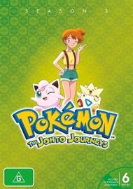 Pokémon® Johto Journeys - Season 3 on DVD image