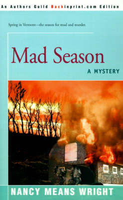 Mad Season: A Mystery by Nancy Means Wright
