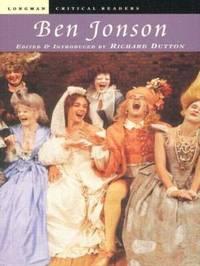 Ben Jonson by Richard Dutton image
