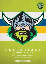 NRL Essentials: Canberra Raiders DVD