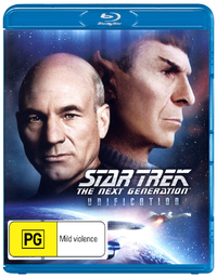 Star Trek: The Next Generation - Unification on Blu-ray