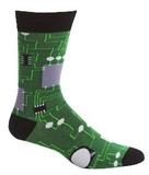 Men's Circuit Board Crew Socks