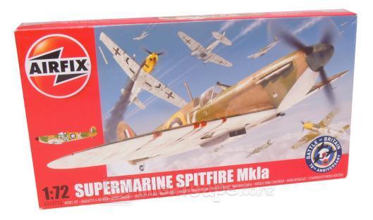 Airfix 1:72 Supermarine Spitfire Mk1 Kitset image