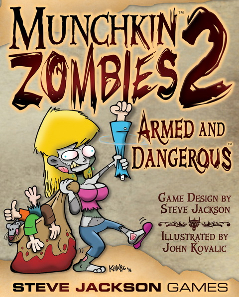 Munchkin Zombies 2: Armed and Dangerous Expansion