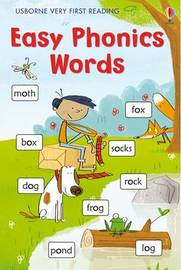 Easy Phonic Words Very First Reading Support Title by Mairi Mackinnon