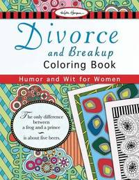 Divorce and Breakup Coloring Book by Kate Harper image