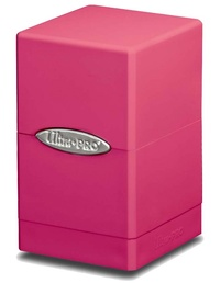 Ultra Pro: Satin Tower Deck Box - Bright Pink