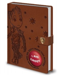 Guardians of the Galaxy: A5 Premium Notebook With Sound - Groot