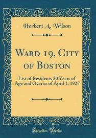 Ward 19, City of Boston by Herbert A. Wilson image