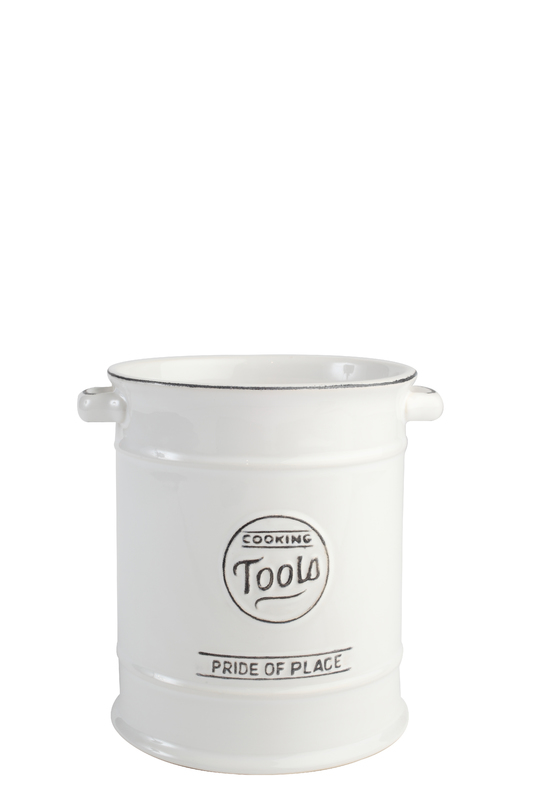 T&G Pride of Place Utensil Jar (White)