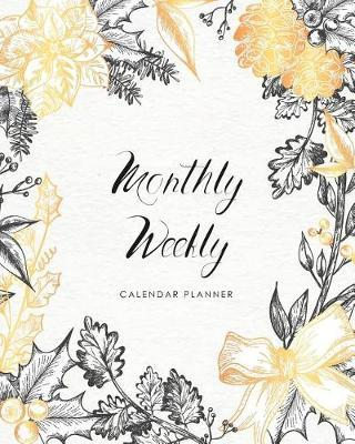 Monthly Weekly Calendar Planner by Michelia Creations
