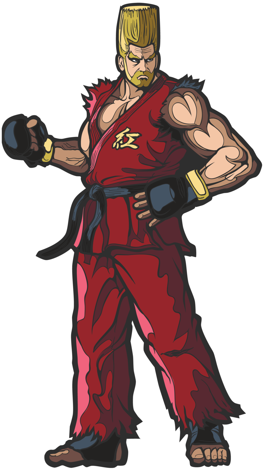 Tekken 7: Paul Phoenix (#12) - FIGPiN image