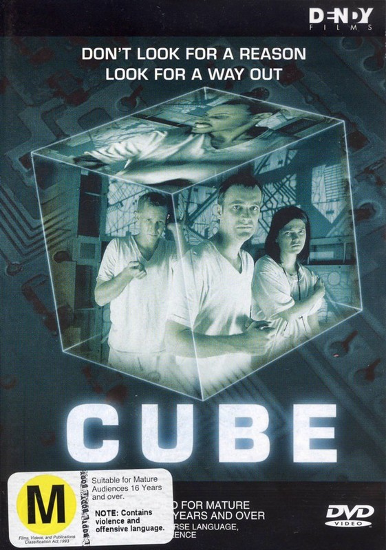 Cube on DVD