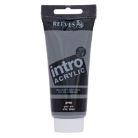 100ml Reeves Intro Acrylic - Grey