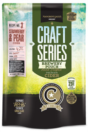 Mangrove Jack's: Craft Series - Strawberry & Pear Cider Cider Pouch (2.4kg)