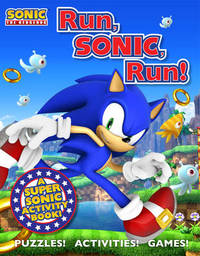 Sonic the Hedgehog Activity Book by MacMillan Children's Books image