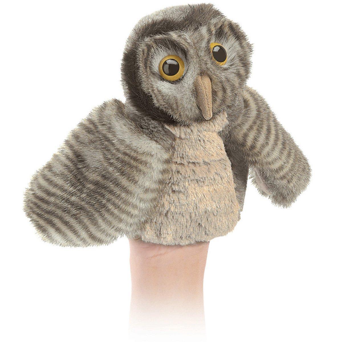 Folkmanis Hand Puppet - Little Owl image