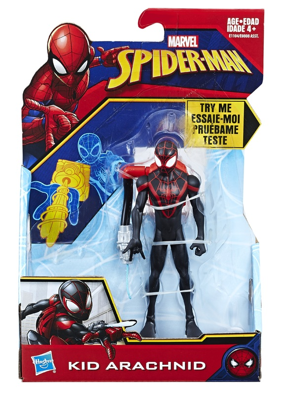 "Marvel: Quick Shot Kid Arachnid - 6"" Action Figure"