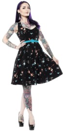 Sourpuss: Atomic Floozy Dress (XXL)