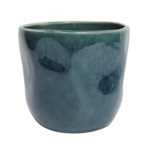 Blue Mottle Planter (12cm)