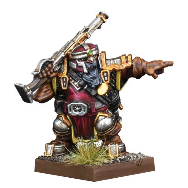 Kings of War Vanguard: Dwarf Support Pack Ironwatch