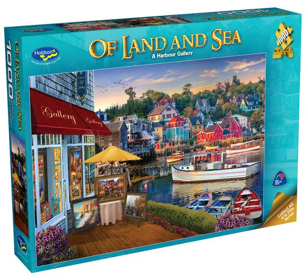 Holdson: 1000 Piece Puzzle - Of Land & Sea S2 (A Harbour Gallery)