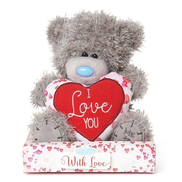Me To You: Tatty Teddy Bear - I Love You Heart