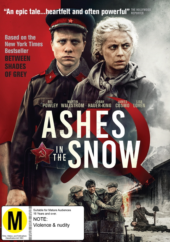 Ashes In The Snow on DVD