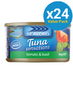 Sealord: Tuna Sensations - Tomato & Basil 95g (24 Pack)