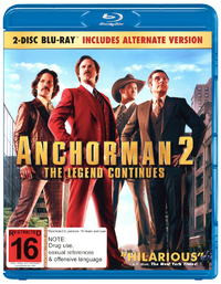 Anchorman 2: The Legend Continues on Blu-ray