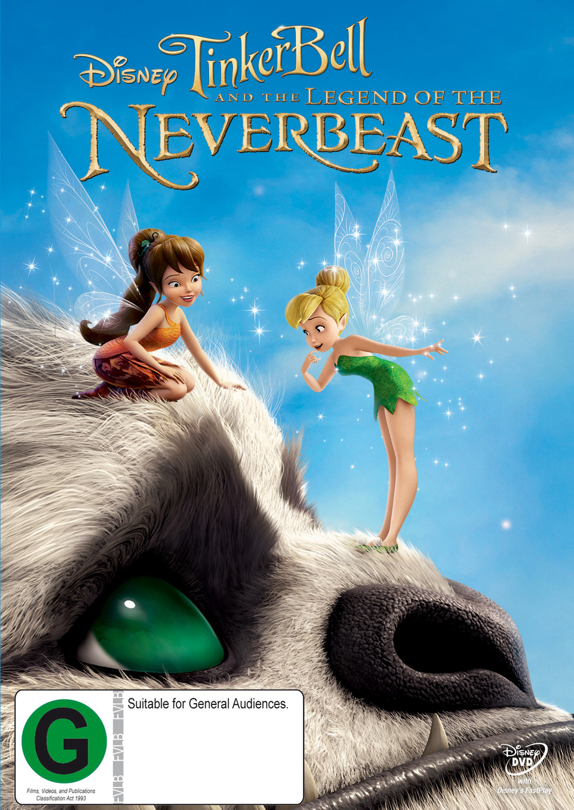 Tinker Bell and the Legend of the NeverBeast on DVD image