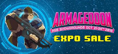 Armageddon Expo Deals!