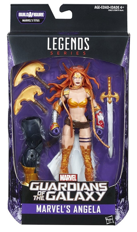 Marvel Legends: Guardians of the Galaxy - Angela Action Figure