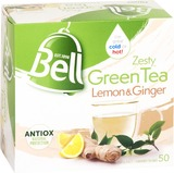 Bell Tea - Zesty Green Tea Bags Lemon & Ginger (50 Bags)