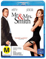 Mr & Mrs Smith on Blu-ray