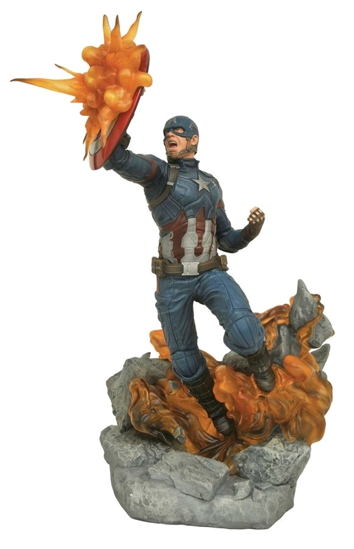 Captain America 3: Civil War - Captain America Resin Statue