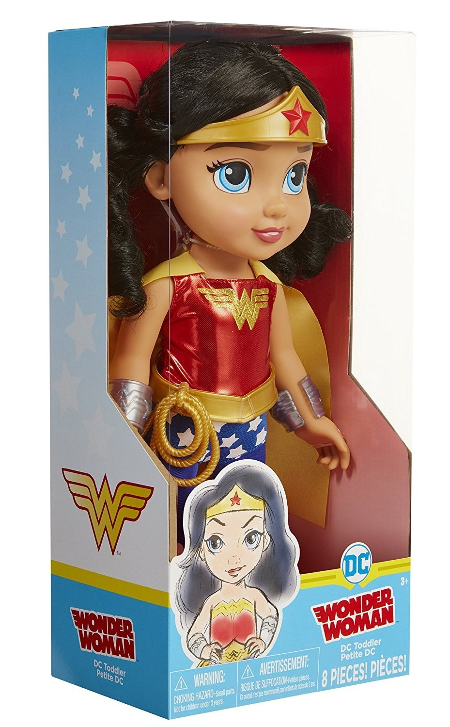 Wonder Woman - Toddler Doll | Toy | at Mighty Ape Australia